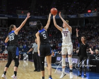 NCAA Women's Basketball Sweet Sixteen - #1 UConn 72 vs. #5 Duke 59 (25)