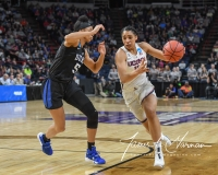 NCAA Women's Basketball Sweet Sixteen - #1 UConn 72 vs. #5 Duke 59 (31)