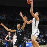 NCAA Women's Basketball Sweet Sixteen - #1 UConn 72 vs. #5 Duke 59 (32)