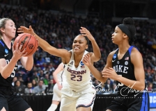 NCAA Women's Basketball Sweet Sixteen - #1 UConn 72 vs. #5 Duke 59 (34)