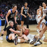 NCAA Women's Basketball Sweet Sixteen - #1 UConn 72 vs. #5 Duke 59 (36)