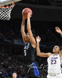 NCAA Women's Basketball Sweet Sixteen - #1 UConn 72 vs. #5 Duke 59 (40)