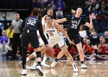 NCAA Women's Basketball Sweet Sixteen - #1 UConn 72 vs. #5 Duke 59 (44)