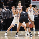 NCAA Women's Basketball Sweet Sixteen - #1 UConn 72 vs. #5 Duke 59 (45)