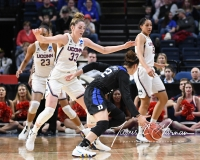 NCAA Women's Basketball Sweet Sixteen - #1 UConn 72 vs. #5 Duke 59 (46)