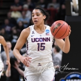 NCAA Women's Basketball Sweet Sixteen - #1 UConn 72 vs. #5 Duke 59 (48)