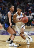 NCAA Women's Basketball Sweet Sixteen - #1 UConn 72 vs. #5 Duke 59 (49)
