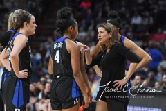 NCAA Women's Basketball Sweet Sixteen - #1 UConn 72 vs. #5 Duke 59 (53)