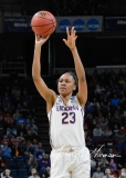 NCAA Women's Basketball Sweet Sixteen - #1 UConn 72 vs. #5 Duke 59 (56)