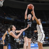 NCAA Women's Basketball Sweet Sixteen - #1 UConn 72 vs. #5 Duke 59 (57)