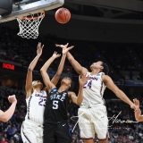 NCAA Women's Basketball Sweet Sixteen - #1 UConn 72 vs. #5 Duke 59 (61)