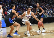 NCAA Women's Basketball Sweet Sixteen - #1 UConn 72 vs. #5 Duke 59 (62)