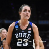 NCAA Women's Basketball Sweet Sixteen - #1 UConn 72 vs. #5 Duke 59 (68)