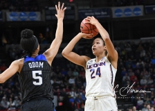 NCAA Women's Basketball Sweet Sixteen - #1 UConn 72 vs. #5 Duke 59 (72)