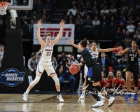 NCAA Women's Basketball Sweet Sixteen - #1 UConn 72 vs. #5 Duke 59 (74)