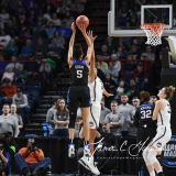 NCAA Women's Basketball Sweet Sixteen - #1 UConn 72 vs. #5 Duke 59 (75)