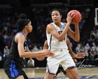 NCAA Women's Basketball Sweet Sixteen - #1 UConn 72 vs. #5 Duke 59 (76)