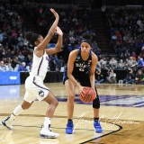 NCAA Women's Basketball Sweet Sixteen - #1 UConn 72 vs. #5 Duke 59 (87)