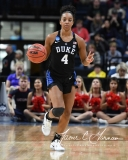 NCAA Women's Basketball Sweet Sixteen - #1 UConn 72 vs. #5 Duke 59 (89)