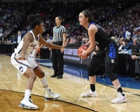 NCAA Women's Basketball Sweet Sixteen - #1 UConn 72 vs. #5 Duke 59 (90)