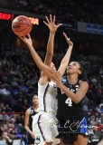 NCAA Women's Basketball Sweet Sixteen - #1 UConn 72 vs. #5 Duke 59 (91)