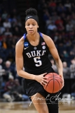 NCAA Women's Basketball Sweet Sixteen - #1 UConn 72 vs. #5 Duke 59 (92)