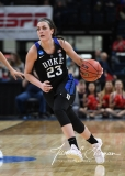 NCAA Women's Basketball Sweet Sixteen - #1 UConn 72 vs. #5 Duke 59 (93)