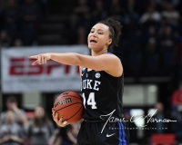 NCAA Women's Basketball Sweet Sixteen - #1 UConn 72 vs. #5 Duke 59 (96)