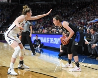 NCAA Women's Basketball Sweet Sixteen - #1 UConn 72 vs. #5 Duke 59 (97)