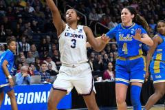 NCAA Women's Basketball Championship Sweet Sixteen: #2 UConn 69 vs. #4 UCLA 61 (110)