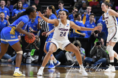 NCAA Women's Basketball Sweet Sixteen - #2 UConn 69 vs. #4 UCLA 61 (123)