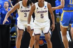 NCAA Women's Basketball Sweet Sixteen - #2 UConn 69 vs. #4 UCLA 61 (125)