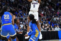 NCAA Women's Basketball Sweet Sixteen - #2 UConn 69 vs. #4 UCLA 61 (134)
