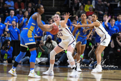 NCAA Women's Basketball Sweet Sixteen - #2 UConn 69 vs. #4 UCLA 61 (136)
