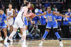 NCAA Women's Basketball Sweet Sixteen - #2 UConn 69 vs. #4 UCLA 61 (54)