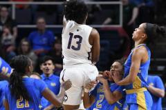 NCAA Women's Basketball Sweet Sixteen - #2 UConn 69 vs. #4 UCLA 61 (56)