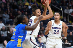 NCAA Women's Basketball Sweet Sixteen - #2 UConn 69 vs. #4 UCLA 61 (58)