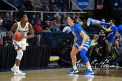 NCAA Women's Basketball Sweet Sixteen - #2 UConn 69 vs. #4 UCLA 61 (66)