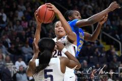 NCAA Women's Basketball Sweet Sixteen - #2 UConn 69 vs. #4 UCLA 61 (69)