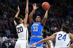 NCAA Women's Basketball Sweet Sixteen - #2 UConn 69 vs. #4 UCLA 61 (70)