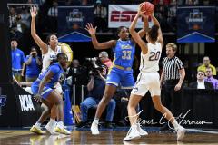 NCAA Women's Basketball Sweet Sixteen - #2 UConn 69 vs. #4 UCLA 61 (71)