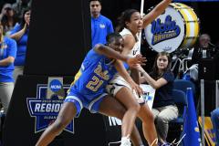 NCAA Women's Basketball Sweet Sixteen - #2 UConn 69 vs. #4 UCLA 61 (72)