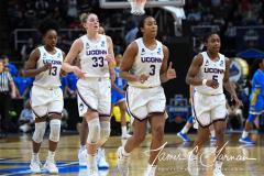 NCAA Women's Basketball Sweet Sixteen - #2 UConn 69 vs. #4 UCLA 61 (80)