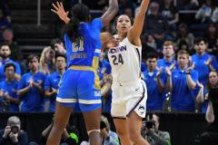 NCAA Women's Basketball Sweet Sixteen - #2 UConn 69 vs. #4 UCLA 61 (89)