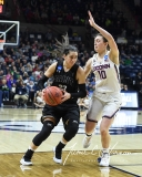 NCAA Women's Basketball 1st Round - UConn 140 vs. St Francis 52 (100)