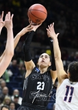 NCAA Women's Basketball 1st Round - UConn 140 vs. St Francis 52 (18)