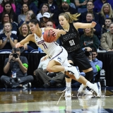 NCAA Women's Basketball 1st Round - UConn 140 vs. St Francis 52 (20)