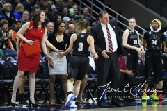NCAA Women's Basketball 1st Round - UConn 140 vs. St Francis 52 (21)