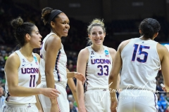 NCAA Women's Basketball 1st Round - UConn 140 vs. St Francis 52 (33)