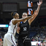 NCAA Women's Basketball 1st Round - UConn 140 vs. St Francis 52 (34)